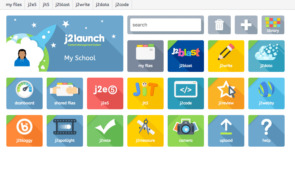 J2E Creative Toolkit Launchpad